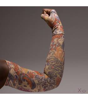 Lotus Dragon Tattoo - Manga Linfedema (MA0111)